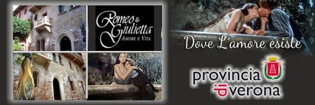 Giulietta e Romeo nella provincia di Verona Veneto Italia