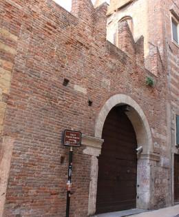 verona veneto italia casa di romeo amore monumento storico di verona
