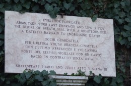 verona veneto italia tomba di giulietta amore monumento storico di verona
